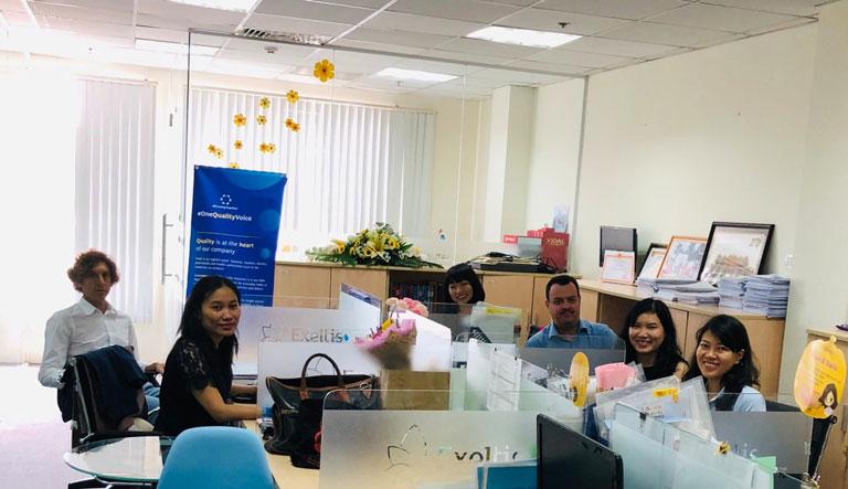 Chào đón ông Leandro Sigman đến Hồ Chí Minh - tháng 5/2019